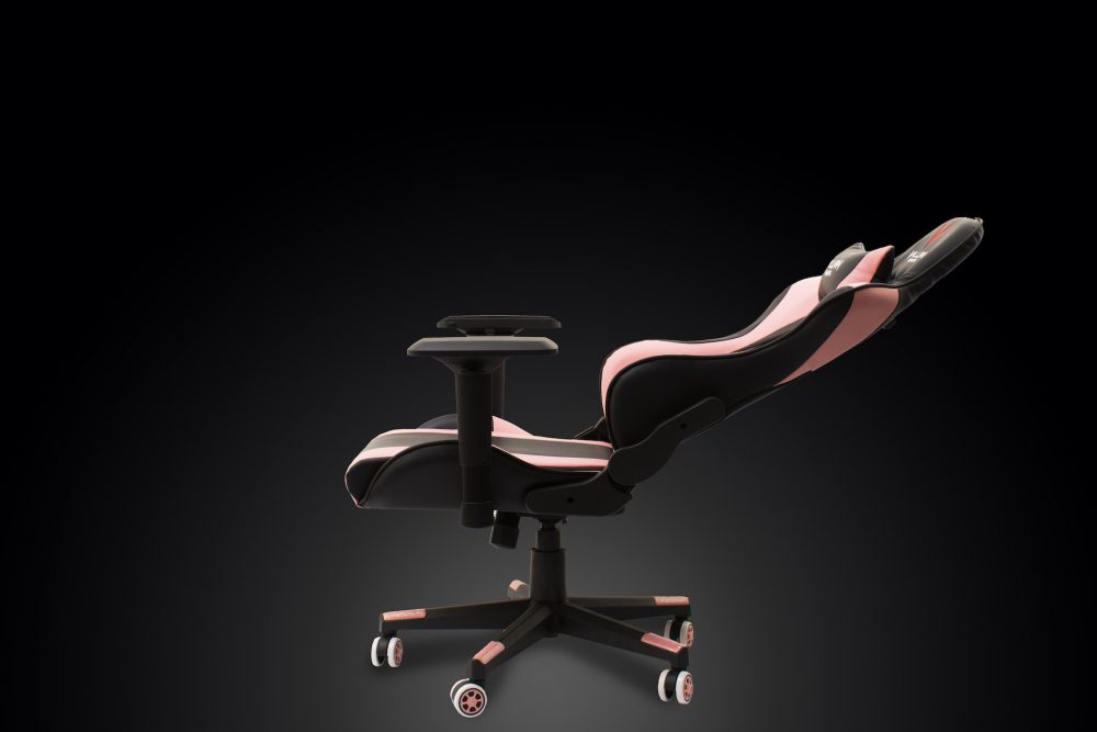 Villain Gaming VALKYRIE Gaming Chair Reclined