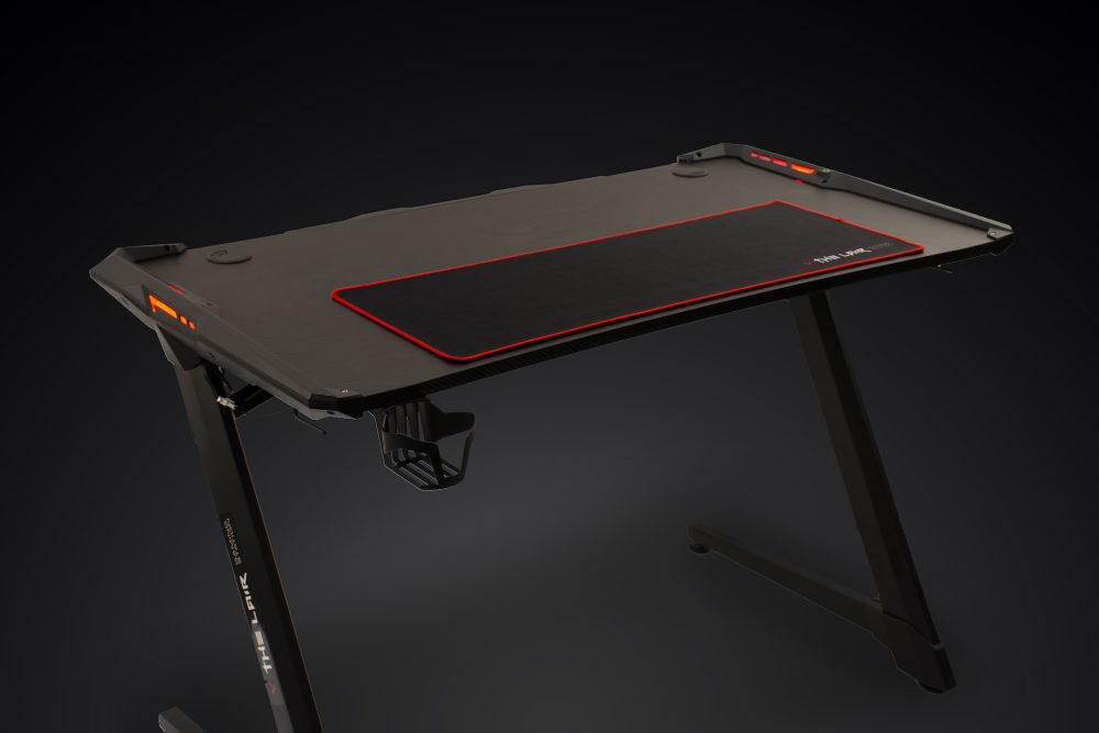 Villain Gaming THE LAIR Gaming Desk Side View