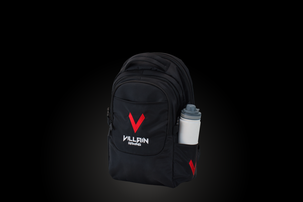 Villain Gaming Vandal Backpack Drink Bottle