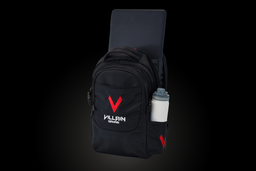 Villain Gaming Vandal Backpack Laptop Compartment