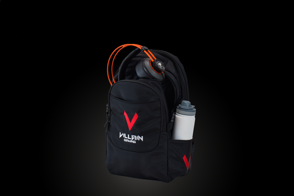 Villain Gaming Vandal Backpack Second Compartment